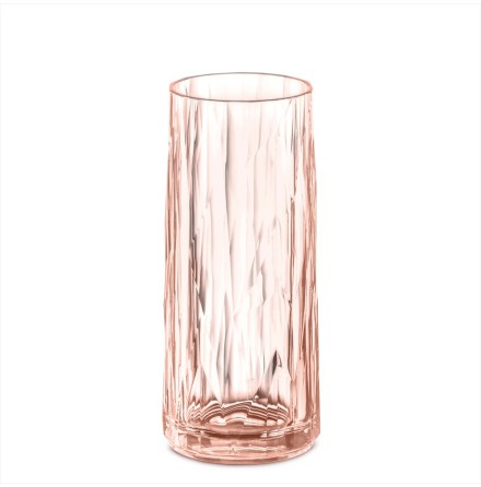 CLUB NO. 3 Longdrinkglas 250ml, rosa