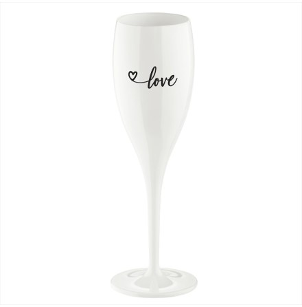 CHEERS NO.1 Champagneglas, LOVE 2.0