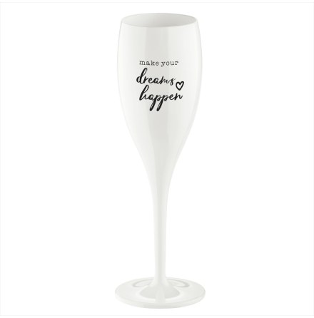 CHEERS NO.1 Champagneglas Make your dreams happen