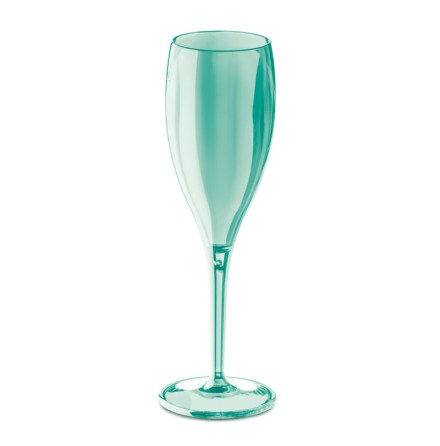 CHEERS NO. 1 Champagneglas 4p, jade